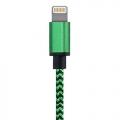 Nylon Lightning kabel 3 meter