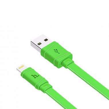 Hoco Bamboo platte Lightning kabel 1 meter