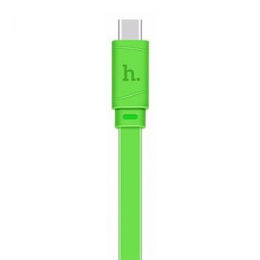 Hoco Bamboo platte USB-C kabel 1 meter