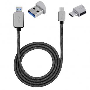 USB-C naar USB 3.0 kabel 1 meter