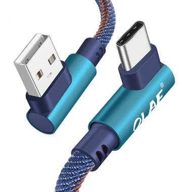 Olaf Jeans USB-C kabel haaks 20 centimeter