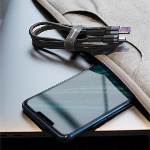 Baseus 40W 5A QC 3.0 USB-C naar USB kabel 1 meter