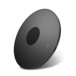 QI draadloze oplader 10W rond zwart